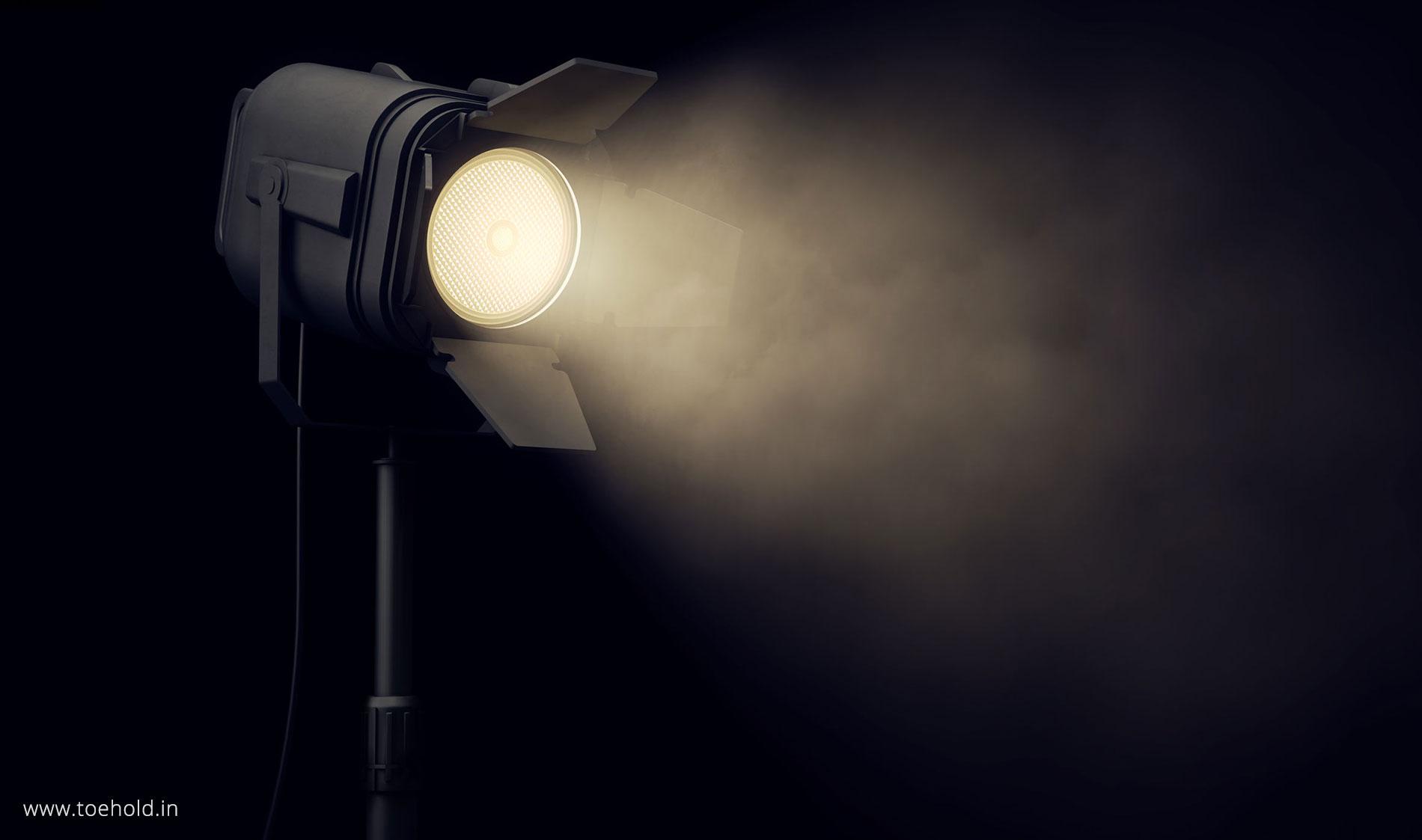 Lighting workshop slider