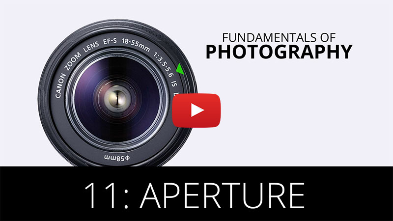 Fundamentals of Photography - Aperture