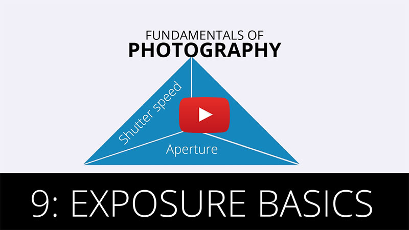 Fundamentals of Photography - Exposure Basics