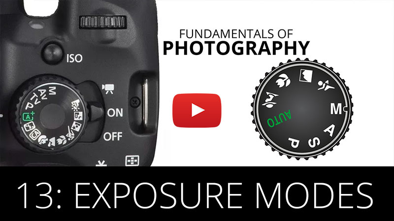 Fundamentals of Photography - Exposure Modes