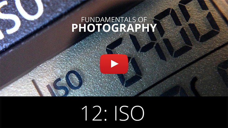 Fundamentals of Photography - ISO