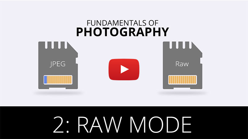 Fundamentals of Photography - Raw Mode