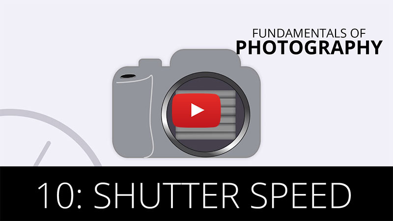 Fundamentals of Photography - Shutter Speed