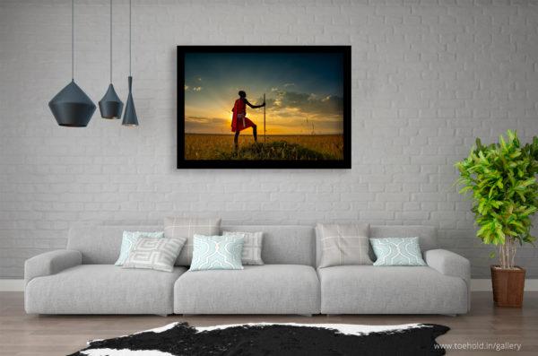 Masai Warrior Frame