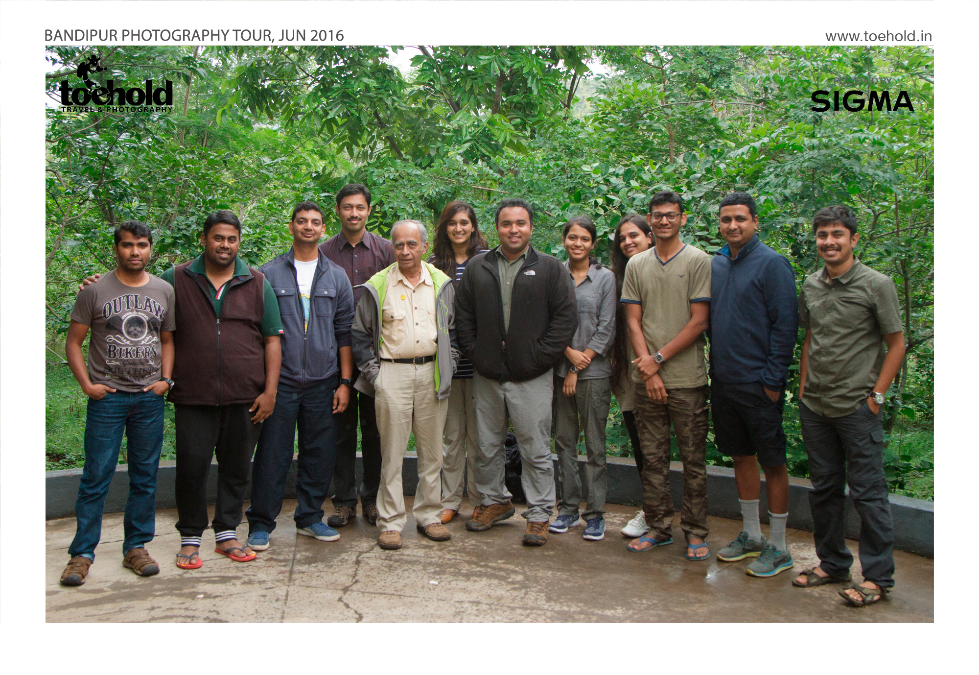 Participants of the Bandipur Photo Tour with Skipper Phillip Ross