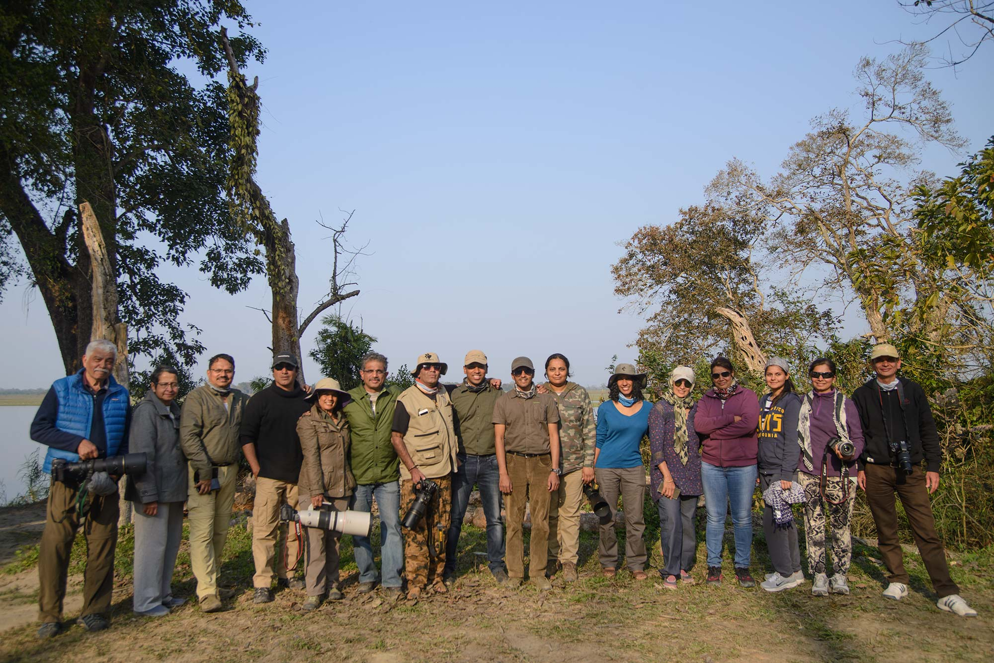 Kaziranga Group Photograph