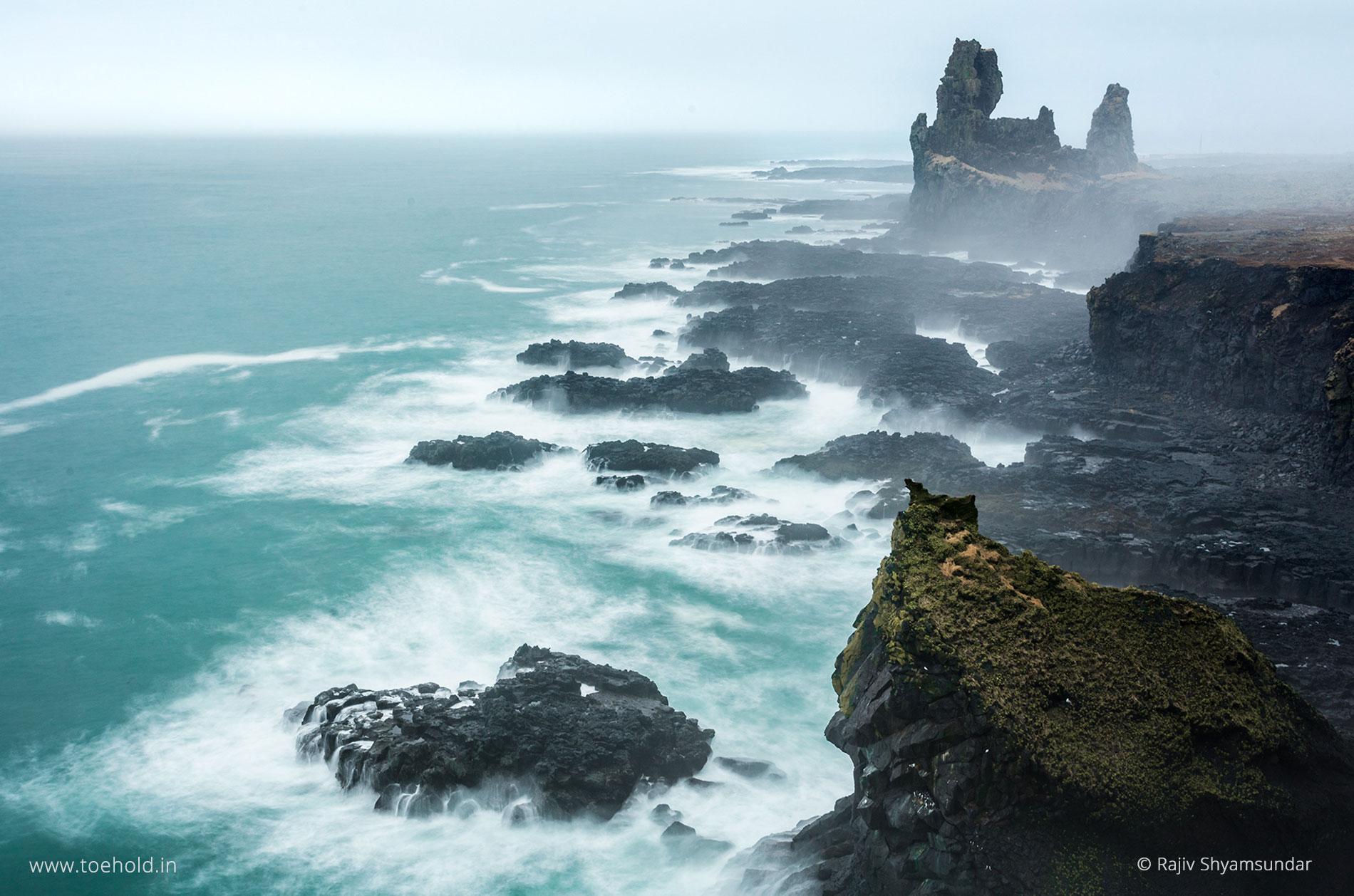Londrangar Snaefellsnes Iceland