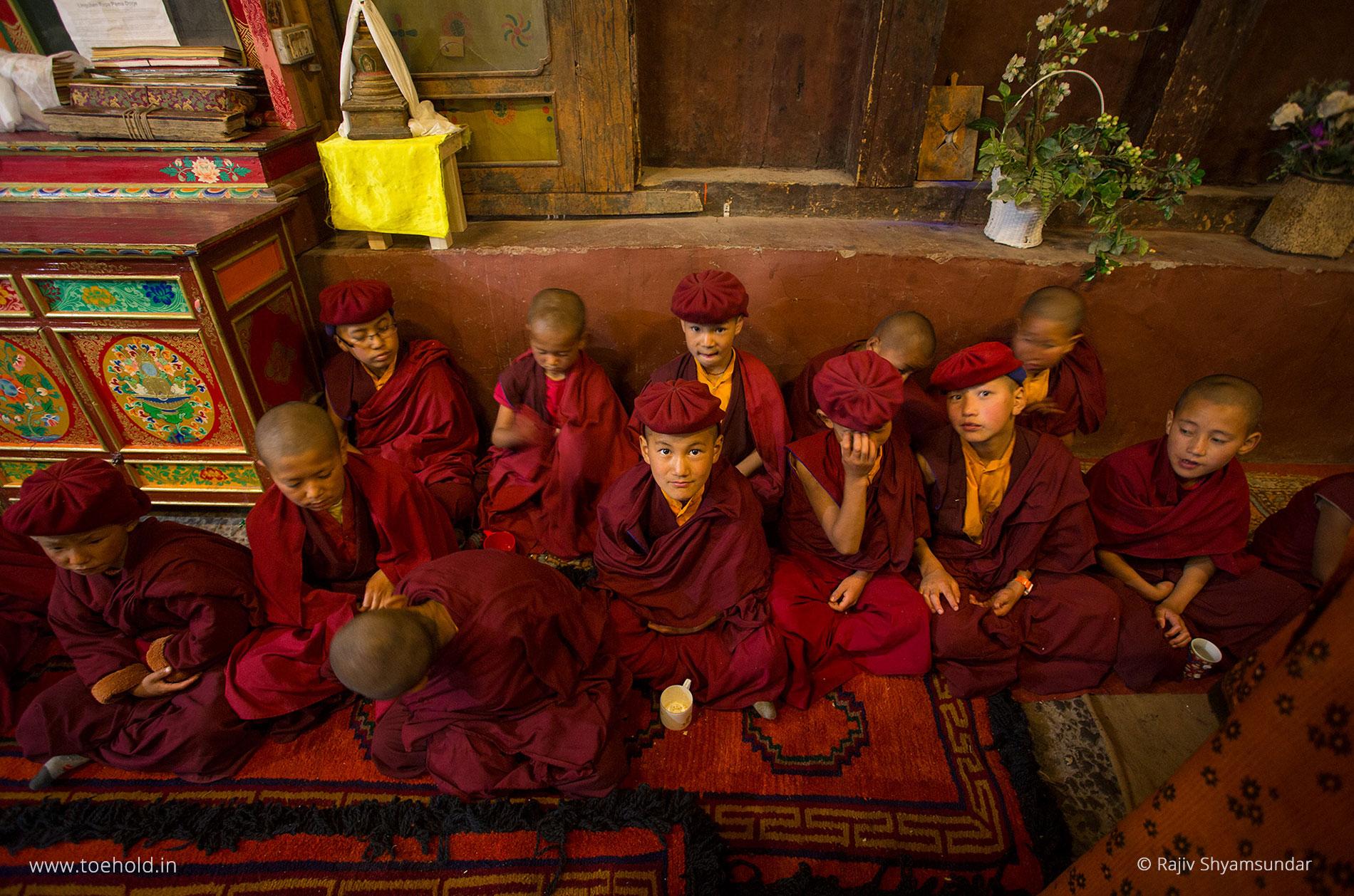 hemis monastery monks leh ladakh