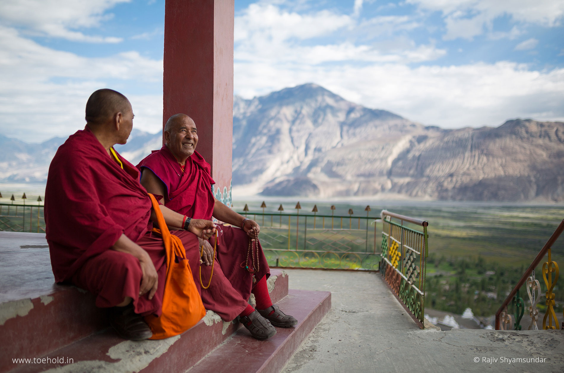 monks diskit nubra