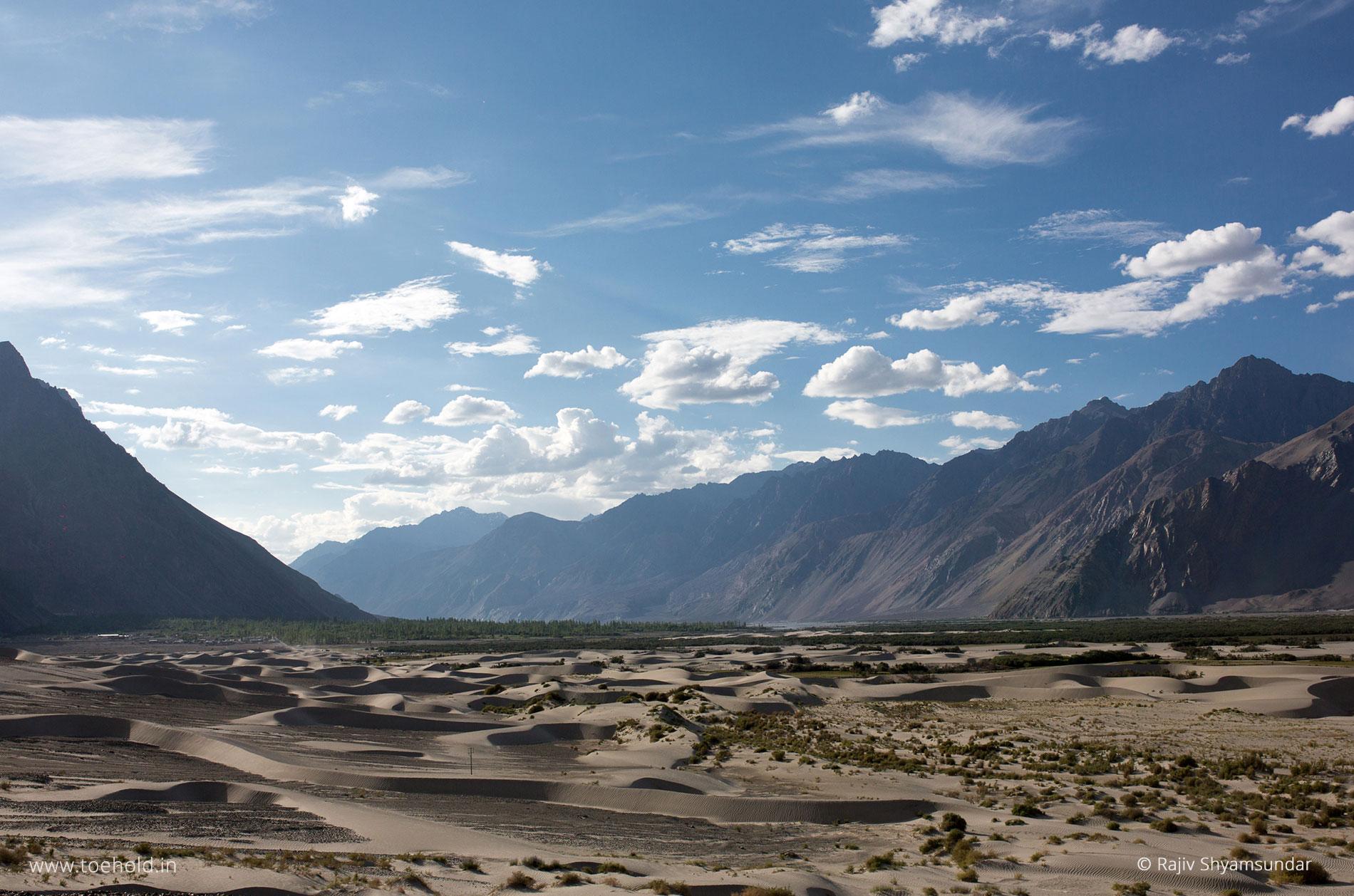 nubra valley sand dunes ladakh
