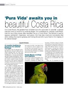Costa Rica Jayanth Sharma
