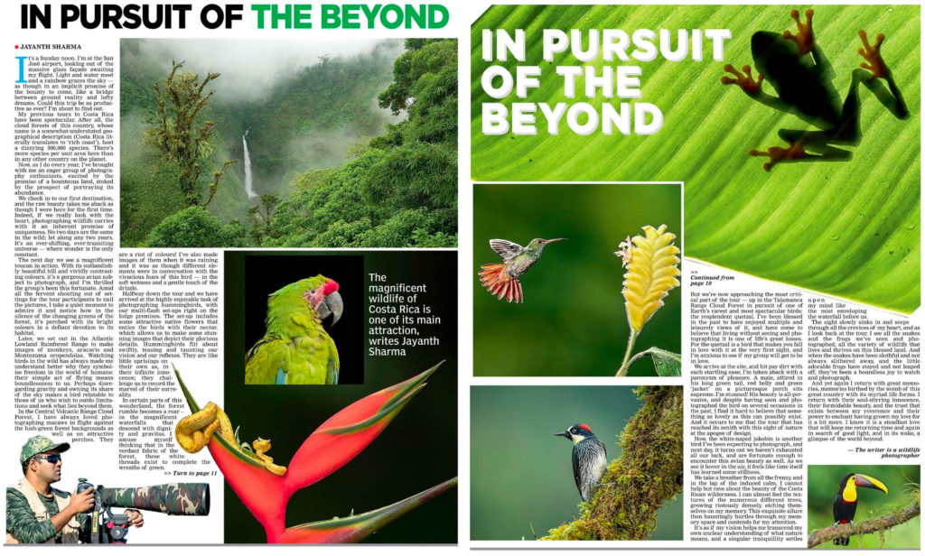 Costa Rica - Sunday Chronicle