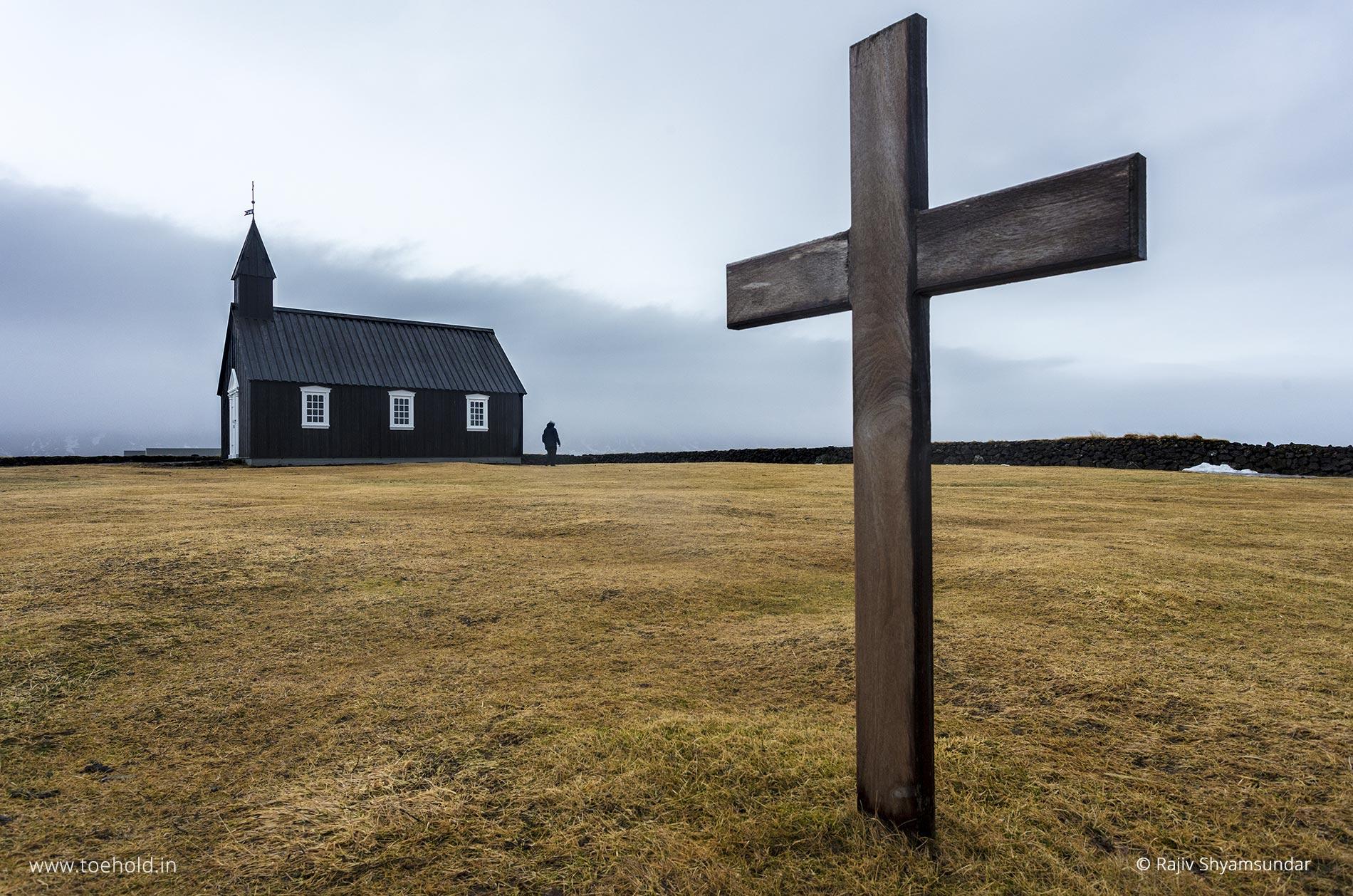 Black church, Snæfellsnes
