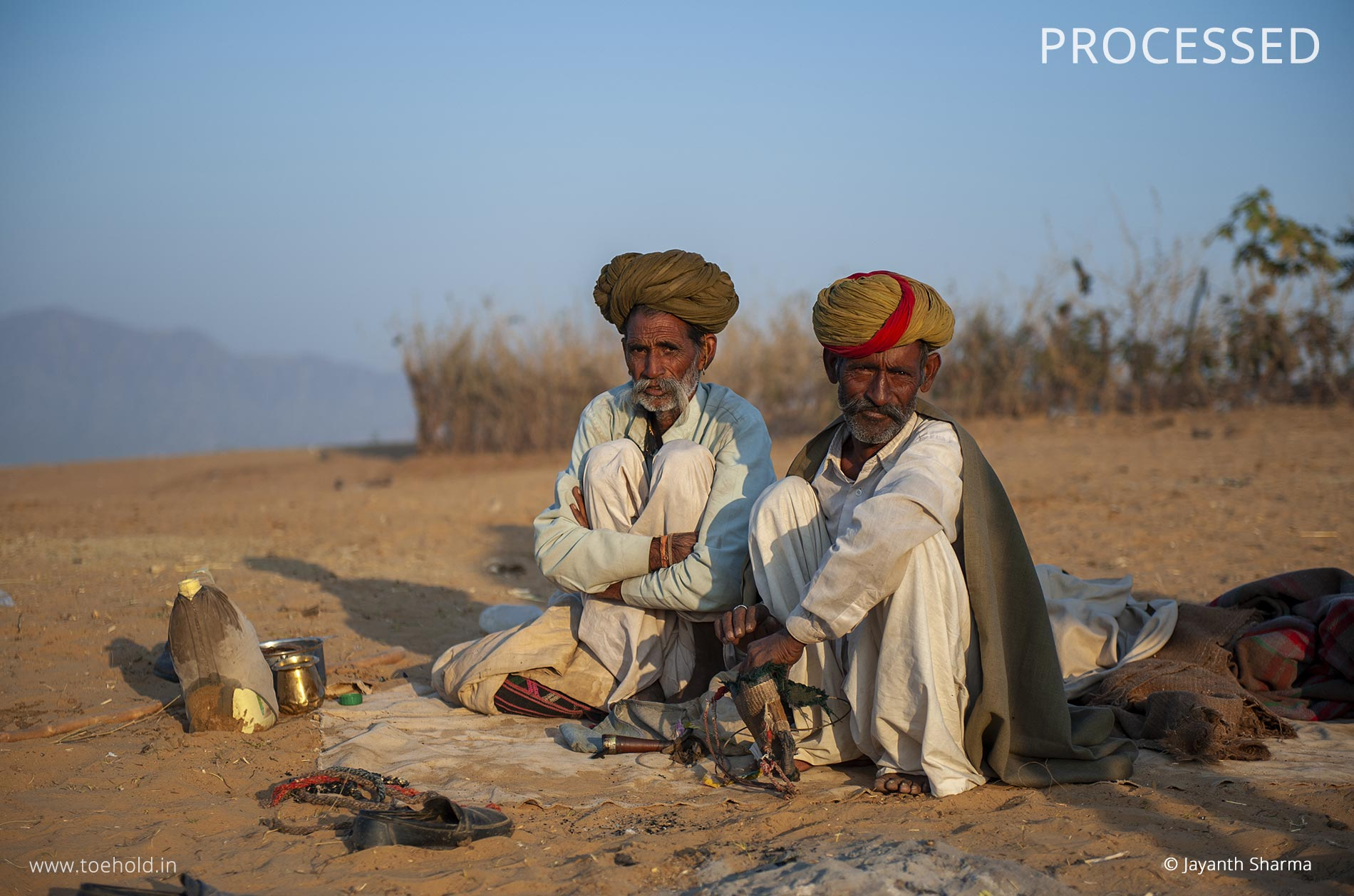 Pushkar farmers processed