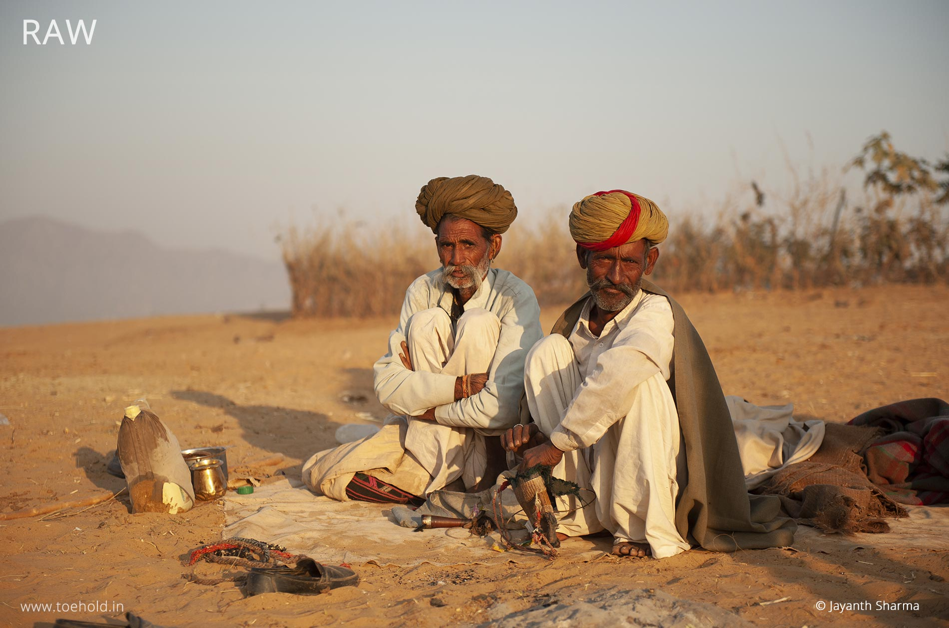 Pushkar farmers raw