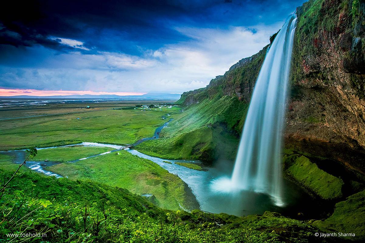 iceland waterfall image 6 FBPost 2021
