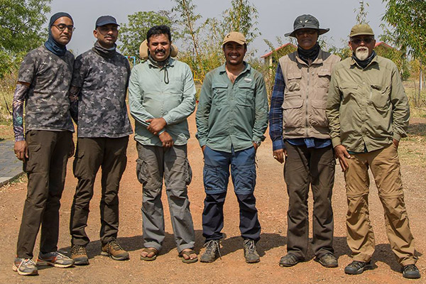 Tadoba group photo