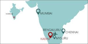Kabini Map